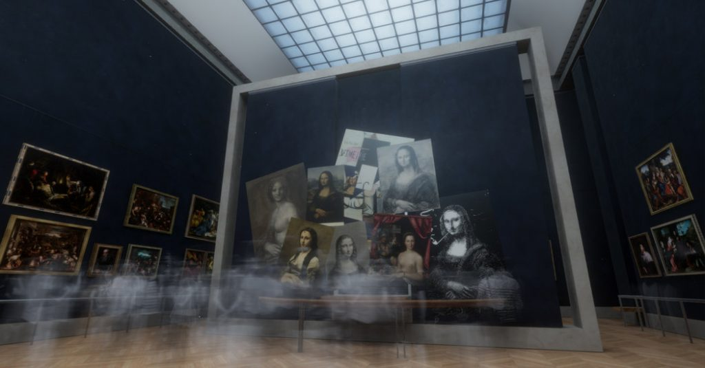 Meeting the 'Mona Lisa' for an Intimate (Virtual) Rendezvous